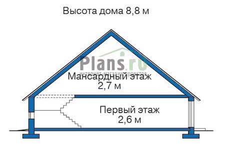 Проект деревянного дома 11-00 план