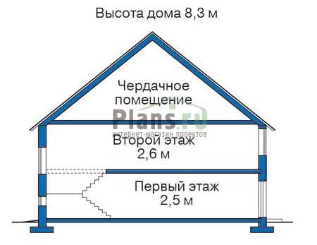 Проект деревянного дома 11-14 план