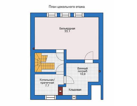 Проект деревянного дома 11-50 план