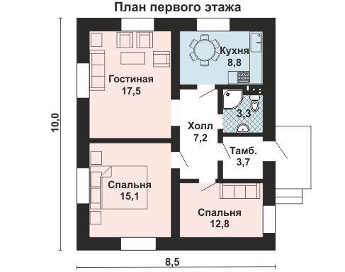 AS-2054 план