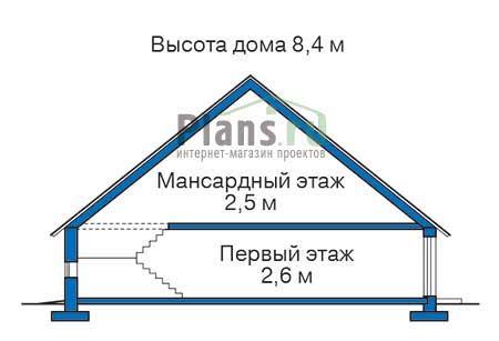 Проект деревянного дома 11-97 план