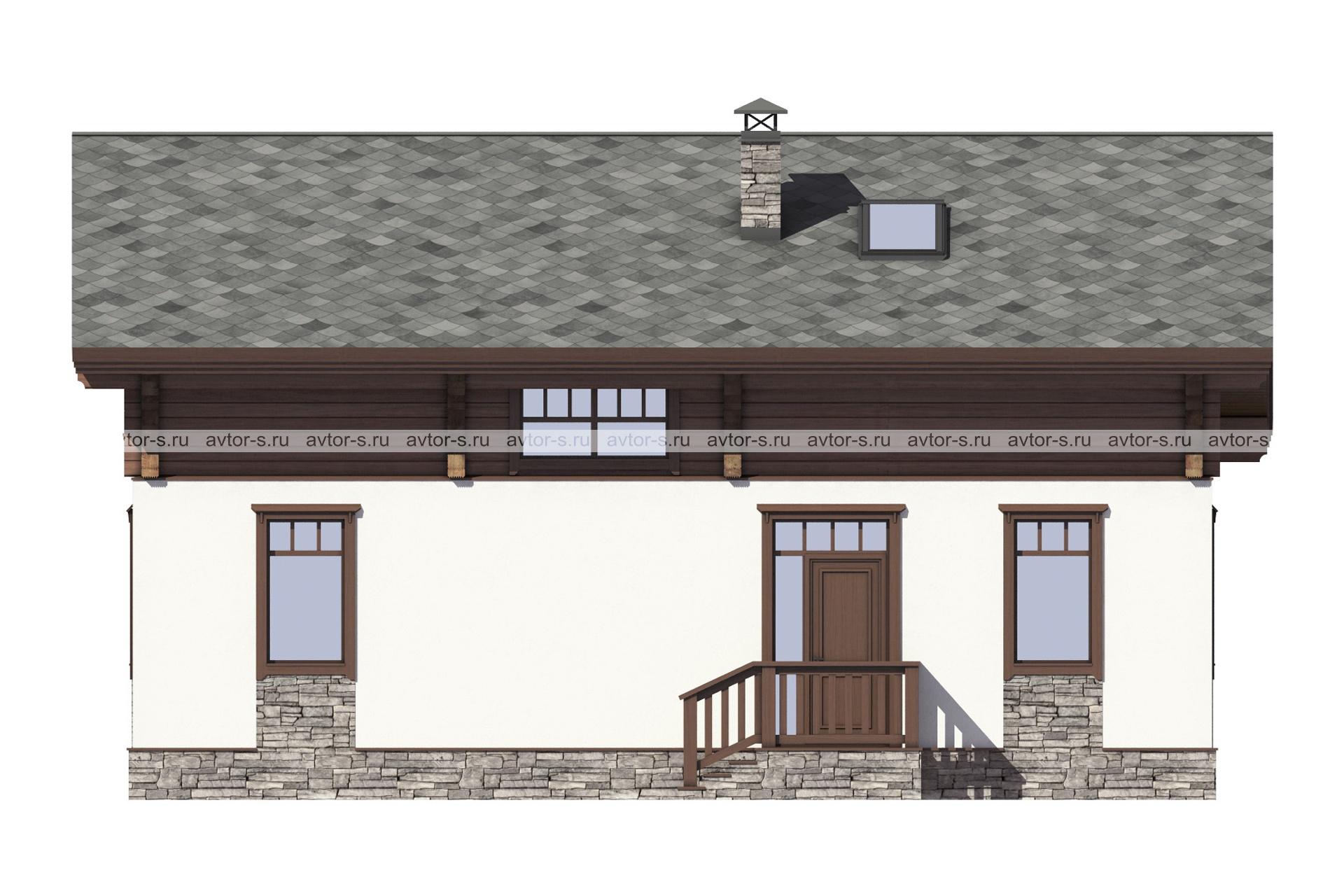 Проект AV310 фасад