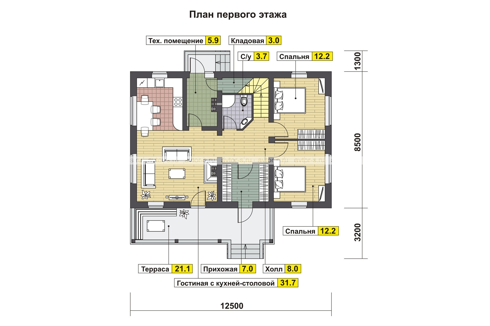 Проект AV310 план