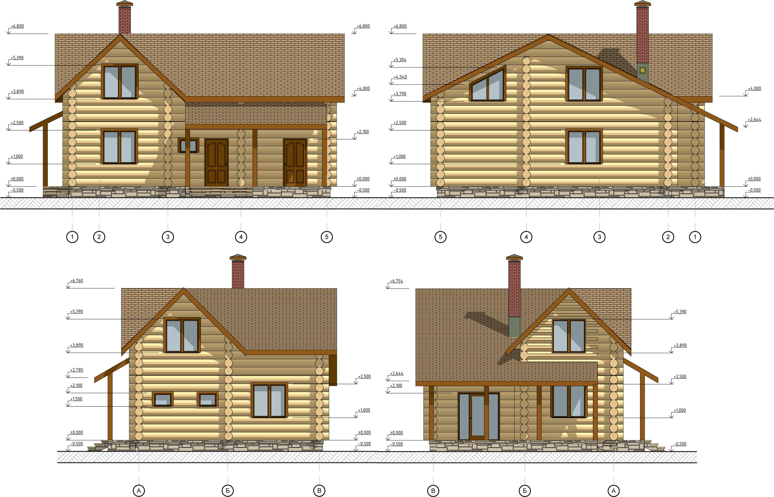 Строительство деревянных домов под ключ WoodStock