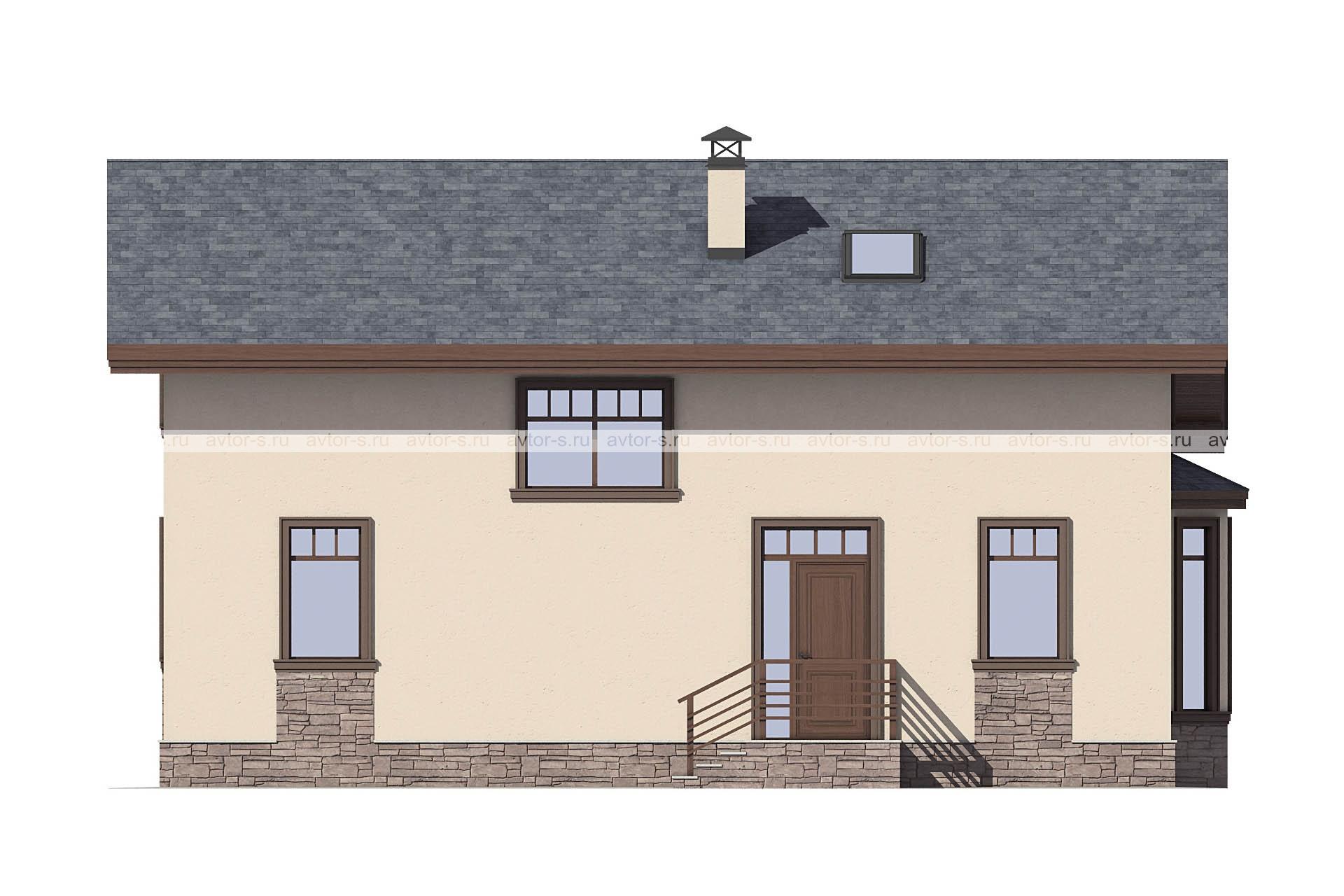 Проект AV311 фасад