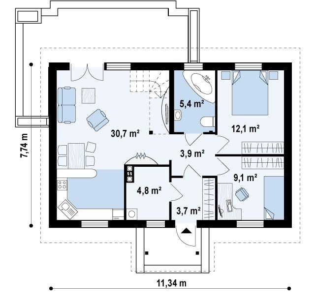 4m032 план