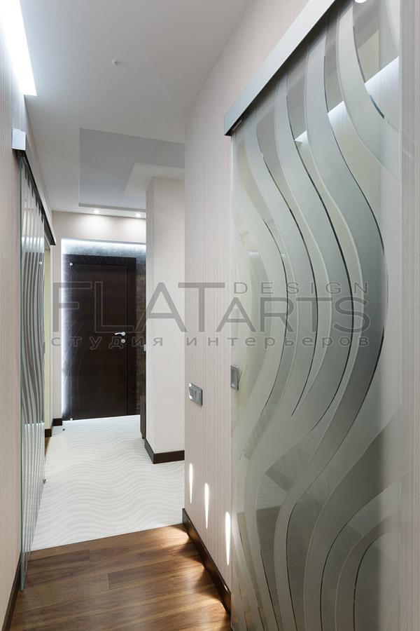Стекло и зеркала в интерьере