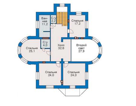 Проект кирпичного дома 36-31 план