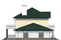 Проект кирпичного дома 41-32 фасад
