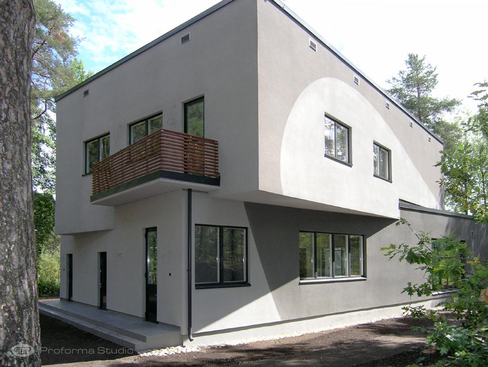 Вилла в Финляндии фасад