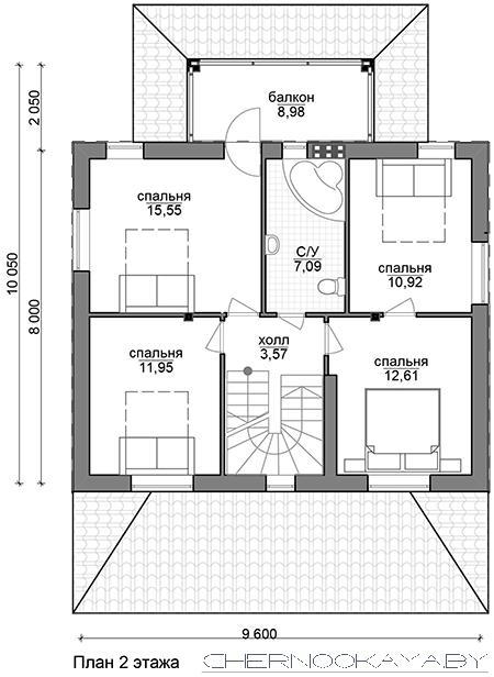 Проект дома №1534 план