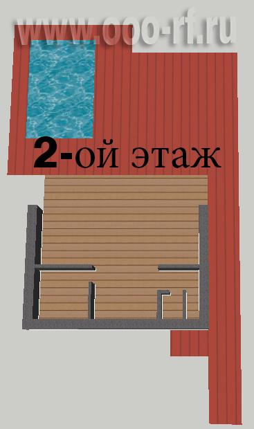 Современный дом с прямой крышей план