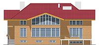 Проект кирпичного дома 41-60 фасад