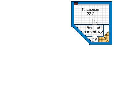 Проект кирпичного дома 41-62 план