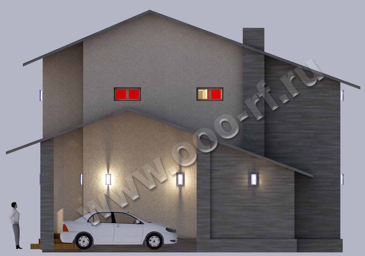 Современный дизайн фасад