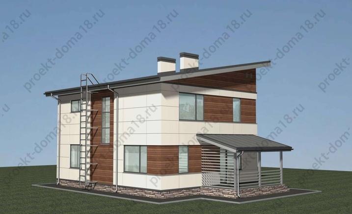 Проект А-07-12 фасад