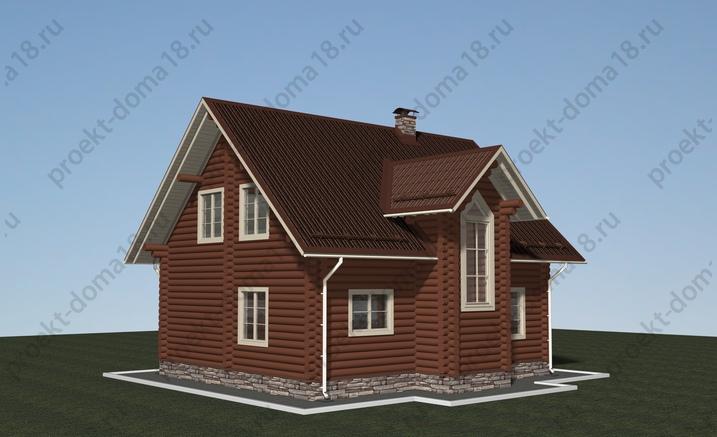Проект Д-01-11 фасад