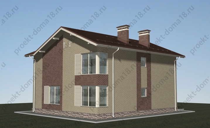 Проект Н-09-13 фасад