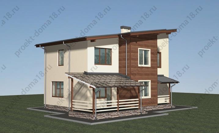 Проект А-07-11 фасад