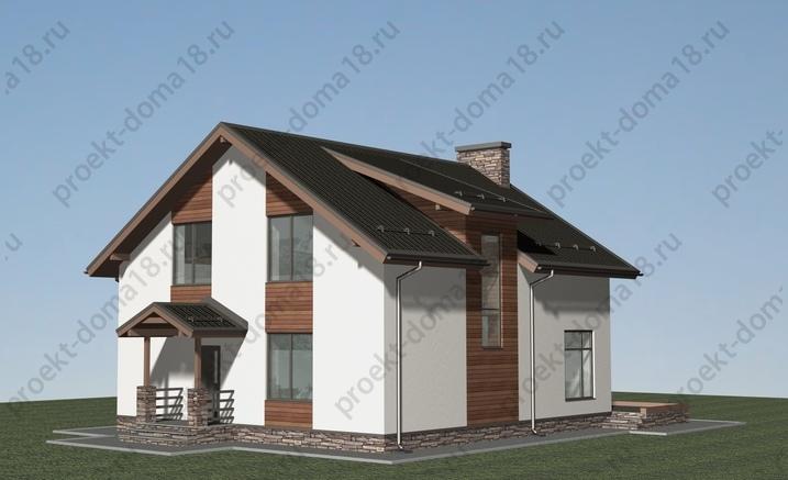Проект Н-09-16 фасад