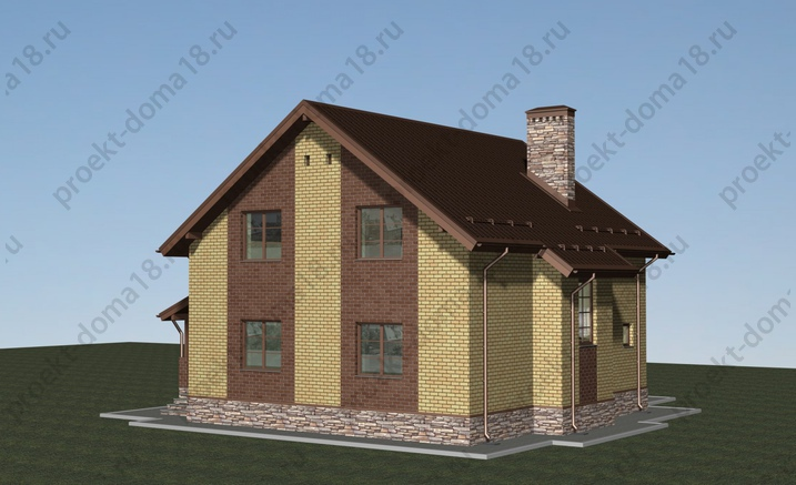 Проект Л-02-12 фасад