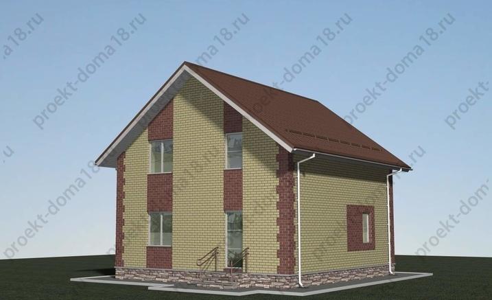 Проект Л-02-14 фасад