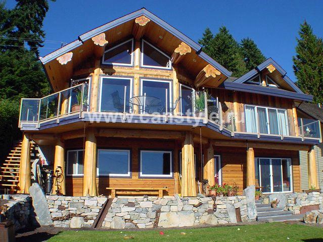 Строительство домов по технологии Post&Beam