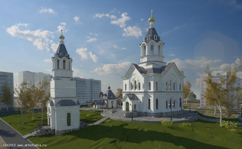 Храм во имя «Успения Божей Матери» г. Выборг фасад