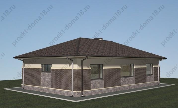 Проект А-07-15 фасад