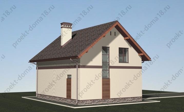Проект Л-02-16 фасад
