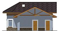 Проект кирпичного дома 41-96 фасад