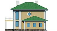 Проект кирпичного дома 42-22 фасад