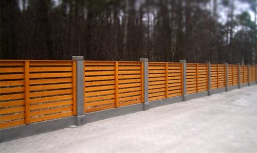 Забор - элемент дизайна, или защита от опасности?