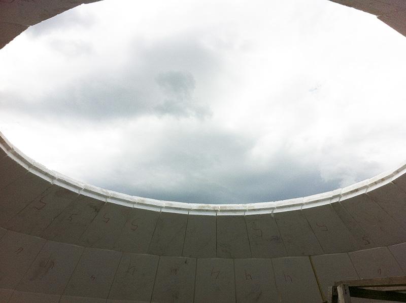 Технология строительства купольного дома