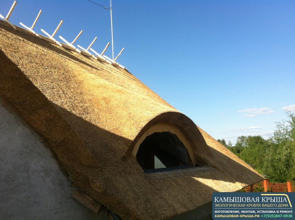 Элитная крыша из камыша