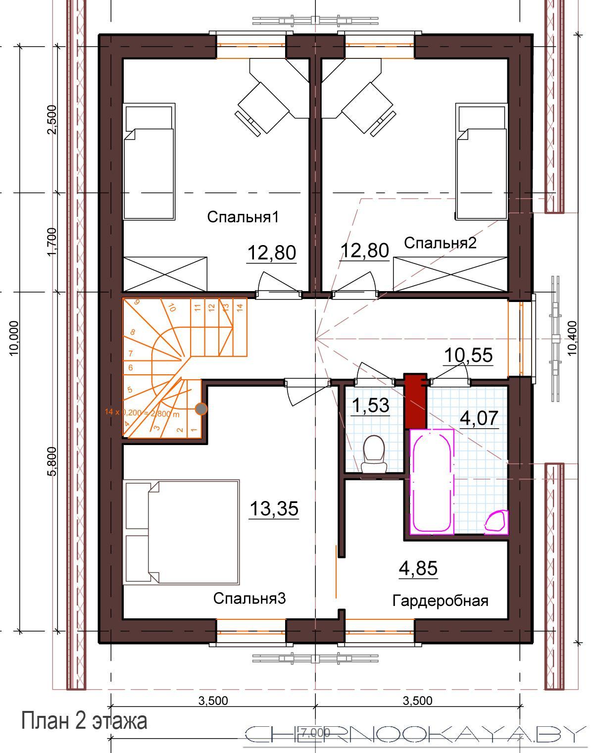 Проект дома 1531 план