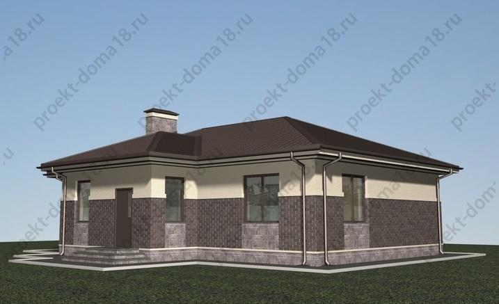 Проект Б-05-16 фасад