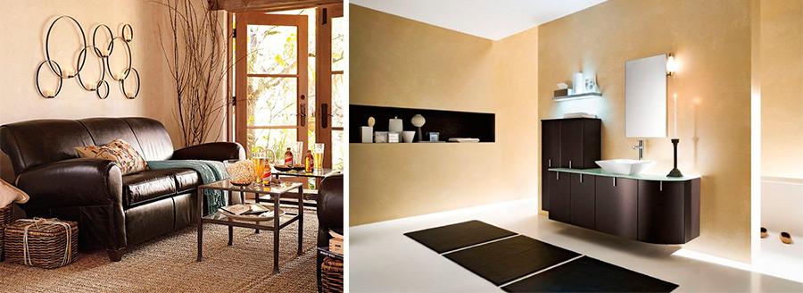 Бежевый цвет в дизайне интерьеров