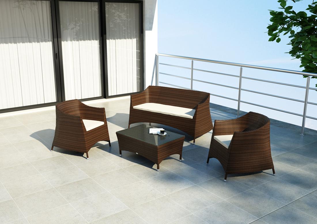 Плетеная мебель из техноротанга фирмы OLTRE