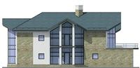 Проект кирпичного дома 37-02 фасад