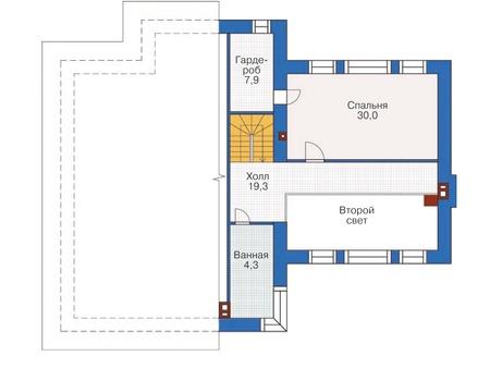 Проект кирпичного дома 37-03 план