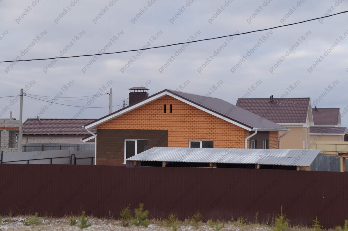 Проект Б-05-14 фасад
