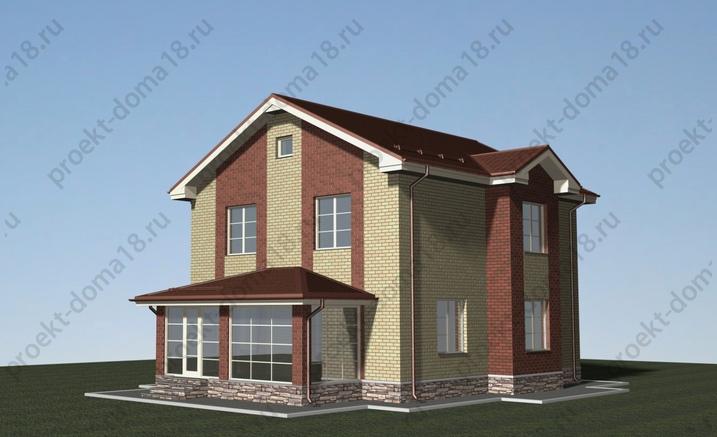 Проект Л-02-13 фасад