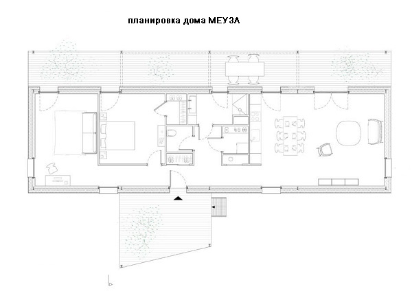дом МЕУЗА план