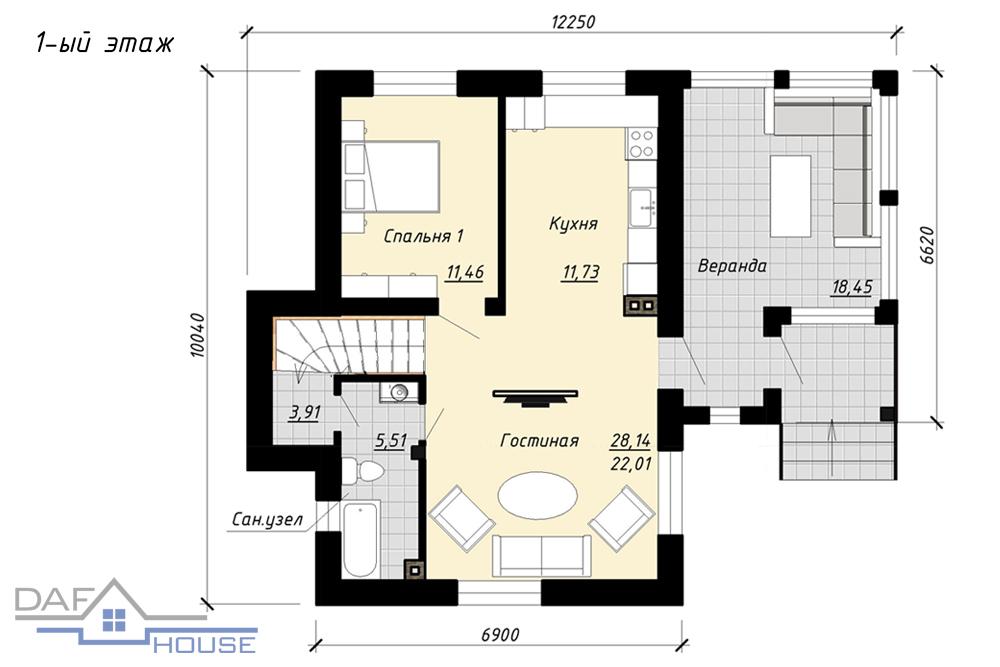 Проект B2513 план