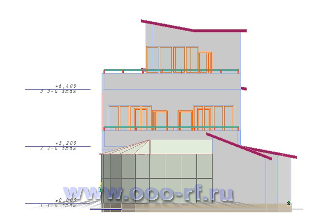 """Дом с зимним садом """"Барко"""" фасад"""
