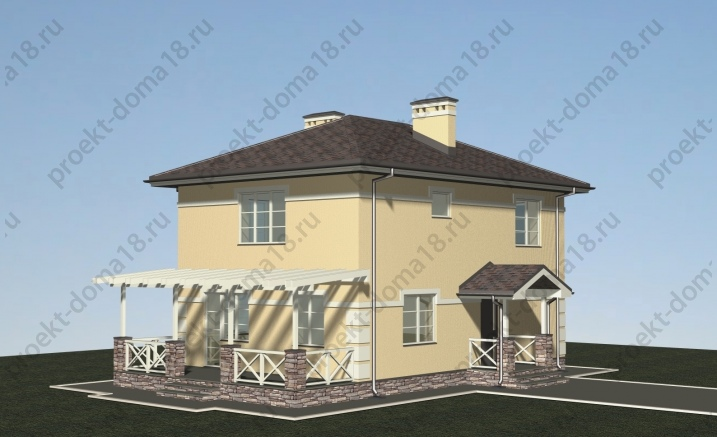 Проект Л-02-20 фасад