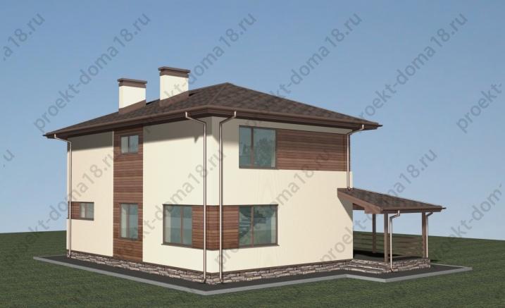 Проект А-07-17 фасад