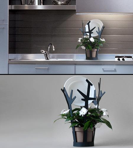 Подставки для посуды в стиле Эко