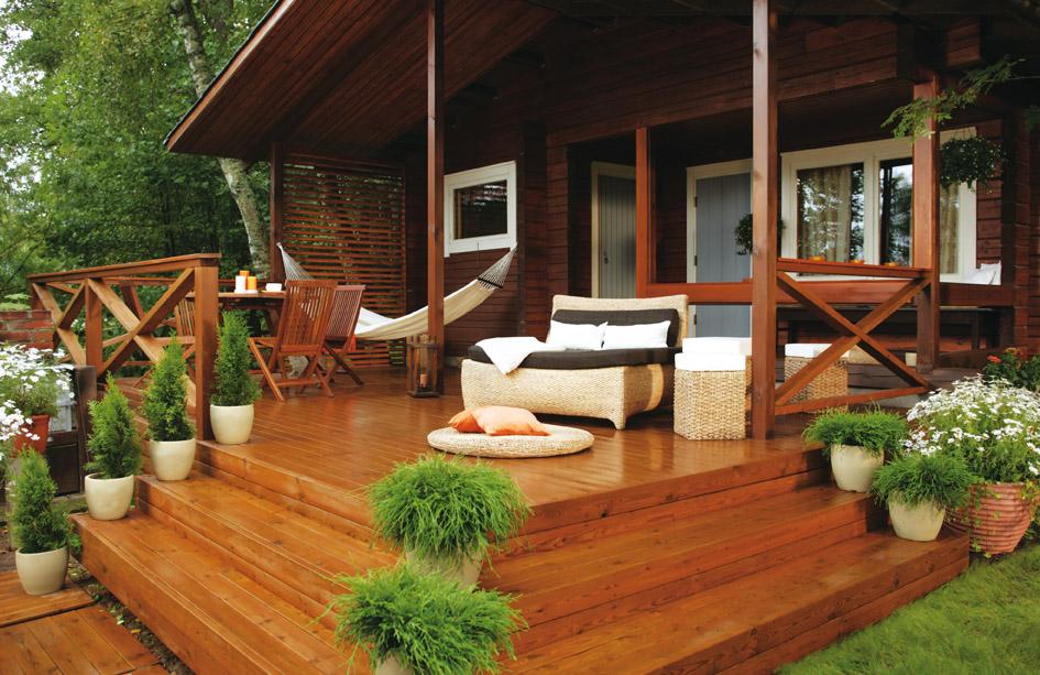 Масло – лучшая натуральная защита древесины.